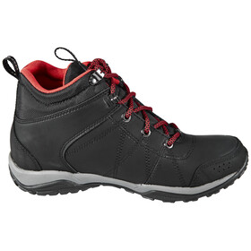 Columbia Fire Venture Shoes Women Mid WP black / burnt henna